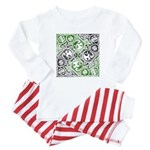 Celtic Puzzle Square Baby Pajamas