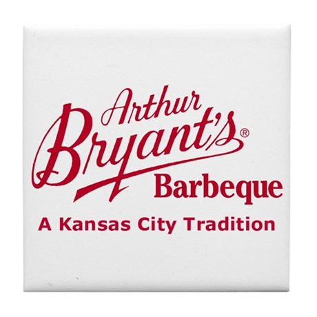 Arthur Bryant's Barbeque Tile Coaster