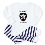 2ND INFANTRY DIVISION Infant Bodysuit