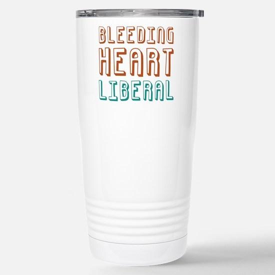 Bleeding Heart Liberal Stainless Steel Travel Mug