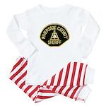 Riverside Sheriff Baby Pajamas