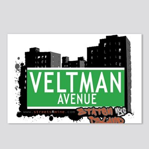 VELTMAN AVENUE, STATEN ISLAND, NYC Postcards (Pack