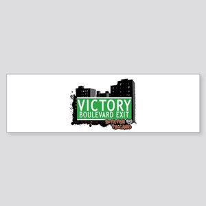 VICTORY BOULEVARD EXIT, STATEN ISLAND, NYC Sticker