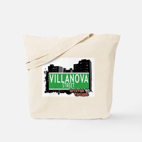 VILLANOVA STREET, STATEN ISLAND, NYC Tote Bag