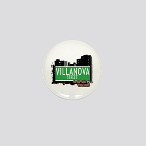 VILLANOVA STREET, STATEN ISLAND, NYC Mini Button