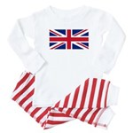 UK Flag Baby Pajamas