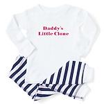Daddy's Clone/Girl Baby Pajamas