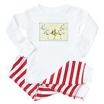 Leap Stork Baby Pajamas