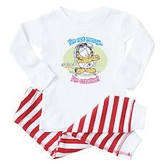 I'm not Messy...Garfield Baby Baby Pajamas