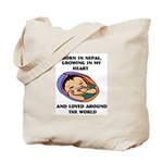 Growing in my Heart Nepal Tote Bag