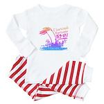 I Survived Hurricane Irma Baby Pajamas