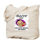 Growing in my Heart Vietnam Tote Bag