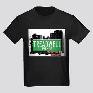 TREADWELL AVENUE, STATEN ISLAND, NYC Kids Dark T-S