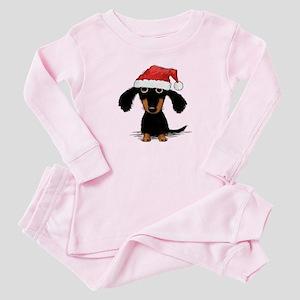 6e1293ec8 Weiner Dog Baby Pajamas - CafePress