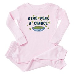 Give Peas A Chance Baby Pajamas