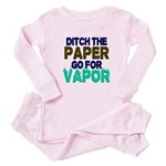 Ditch the Paper Baby Pajamas