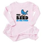 The Bird is the Word Baby Pajamas