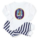 USS IOWA Baby Pajamas