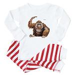 Orangutan Ape Baby Pajamas