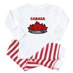 Canadian Pride STRONG & FREE Baby Pajamas