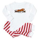 Power Cat Logo Baby Pajamas