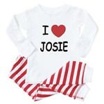 I heart josie Baby Pajamas