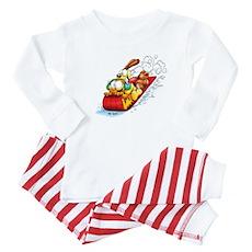 Sledding Fun! Baby Pajamas