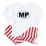 Mt Pleasant Decal-style Baby Pajamas