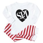 SPJ Love Baby Pajamas