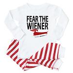 Fear the Wiener Baby Pajamas