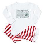 Carnegie Steel 1890 Baby Pajamas