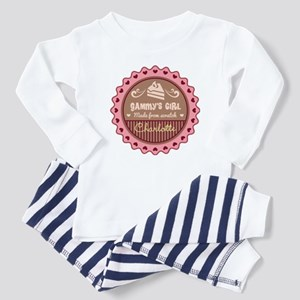 Personalized Gammys Girl Baby Pajamas