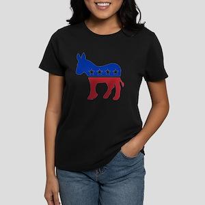 Democrat Donkey Women's Dark T-Shirt
