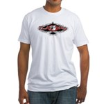 """Red Dog """"Ace of Spades"""" Fitted Tee (whit"""