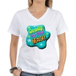 Grody To The Max! Women's V-Neck T-Shirt
