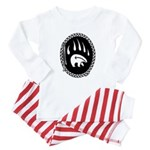 Tribal Bear Claw Baby Pajamas