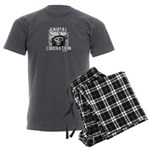 Animal Liberation 5 - Men's Charcoal Pajamas