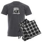 Animal Liberation 5 - Men's Charcoal Pajamas