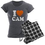 Cam Love Women's Charcoal Pajamas