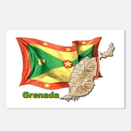 Grenada Postcards (Package of 8)