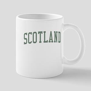 Scotland Green Mug