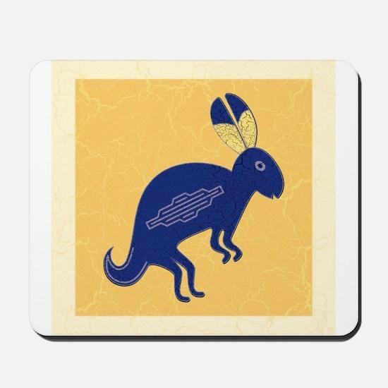Whimsical Rabbit Mousepad