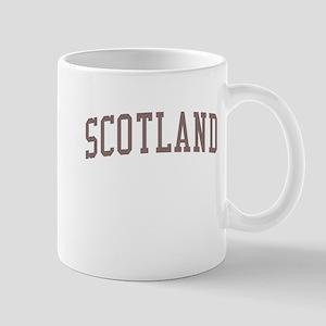 Scotland Red Mug