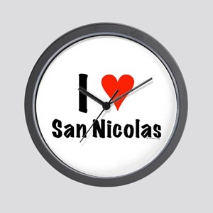 I love San Nicolas Wall Clock