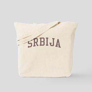 Serbia Red Tote Bag