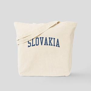 Slovakia Blue Tote Bag