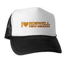 I Love Roswell, NM Trucker Hat