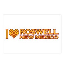 I Love Roswell, NM Postcards (Package of 8)