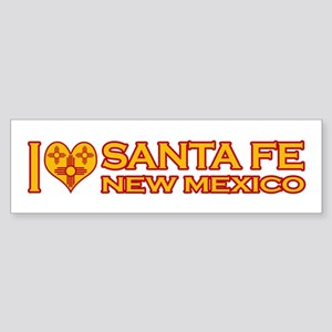 I Love Santa Fe, NM Bumper Sticker