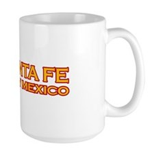 I Love Santa Fe, NM Large Mug